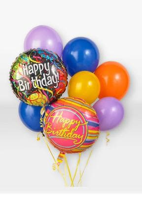 Birthday Balloon Bouquet In McCook NE