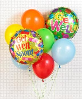 Get Well Balloon Bouquet in Price, UT | Price Floral