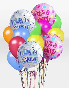 It's A Boy Balloon Bunch in Price, UT | Price Floral