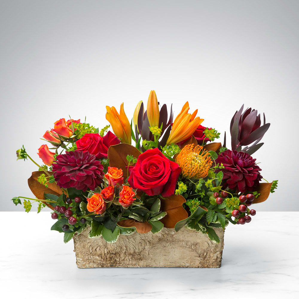 Box Of Autumn By Bloomnation In Santa Maria Ca Flower Carriage