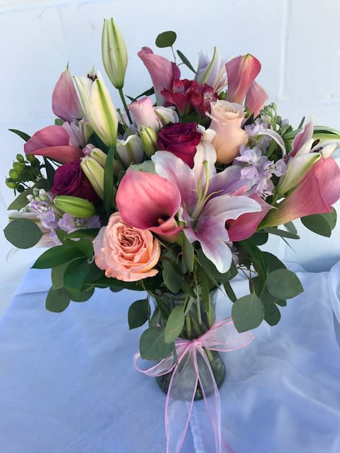 Roses Lilies Callas And Mixed Flowers In Riverhead Ny L A