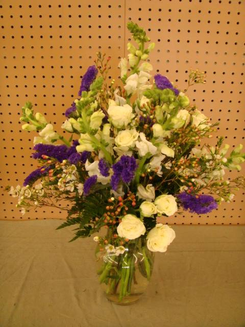 Snap Dragons,Statice & Wax Flowers
