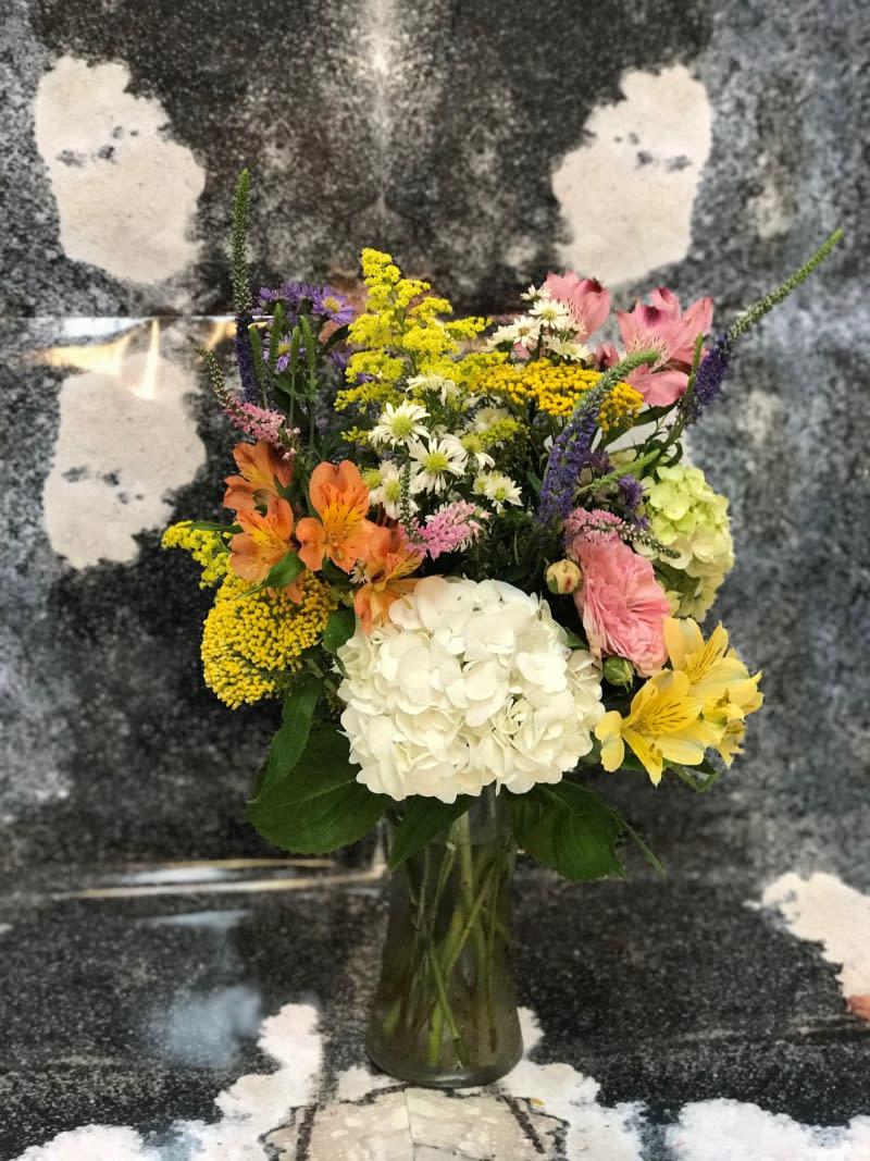 Wild Flower Garden Picked Arrangement