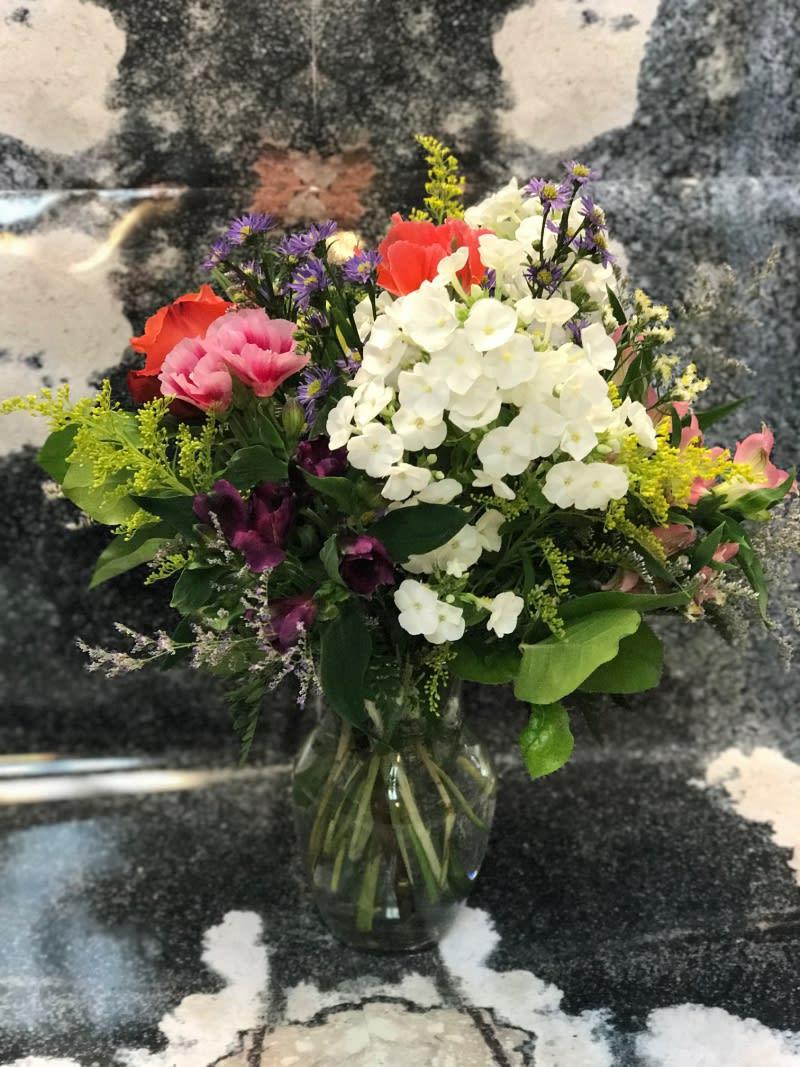 European Wild Flower Bouquet By Victoria Park Flower Studio