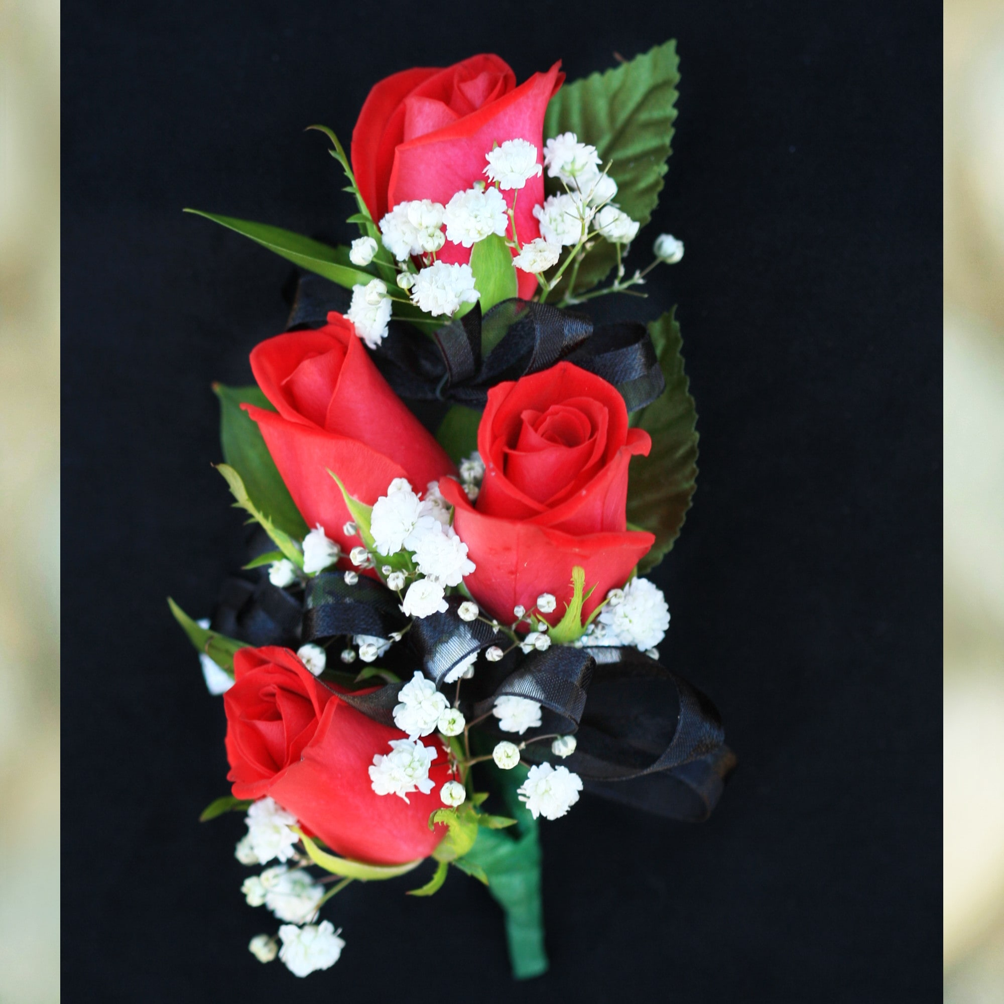 Red Rose Corsage In Claremont Ca Sherwood Florist Uniqueart