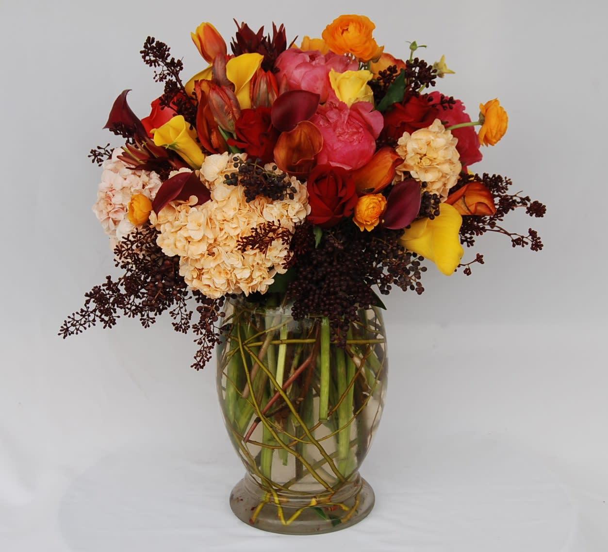 Dressed For Autumn In La Crescenta Ca Crescenta Valley Flowers