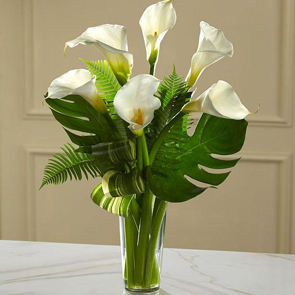 The Ftd Always Adored Calla Lily Bouquet In Monroe Mi Deb S