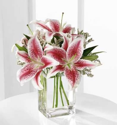 The Ftd Pink Lily Bouquet In Warwick Ri Greenwood Flower