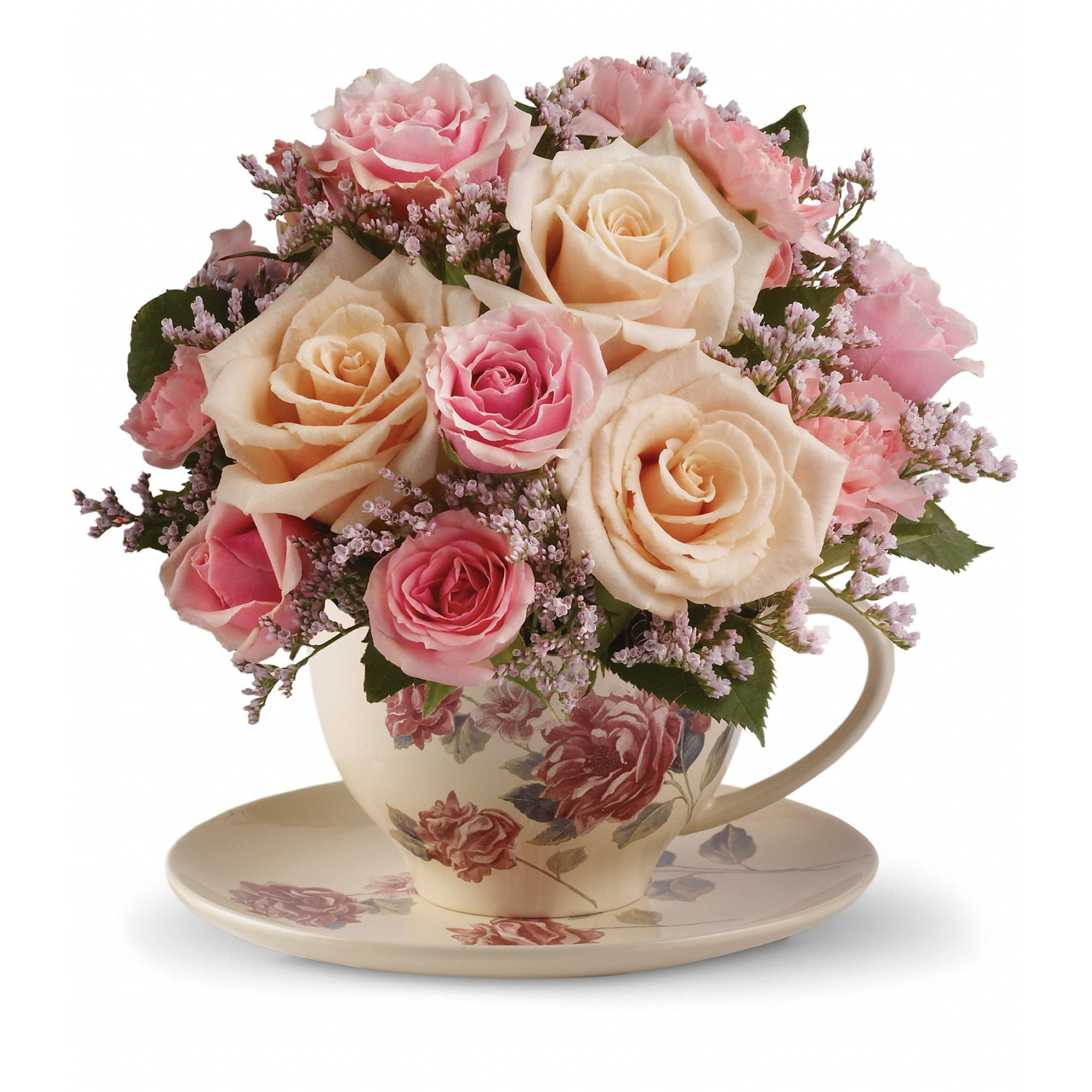 Telefloras Victorian Teacup Bouquet In Miami Fl Flowers By Nelson