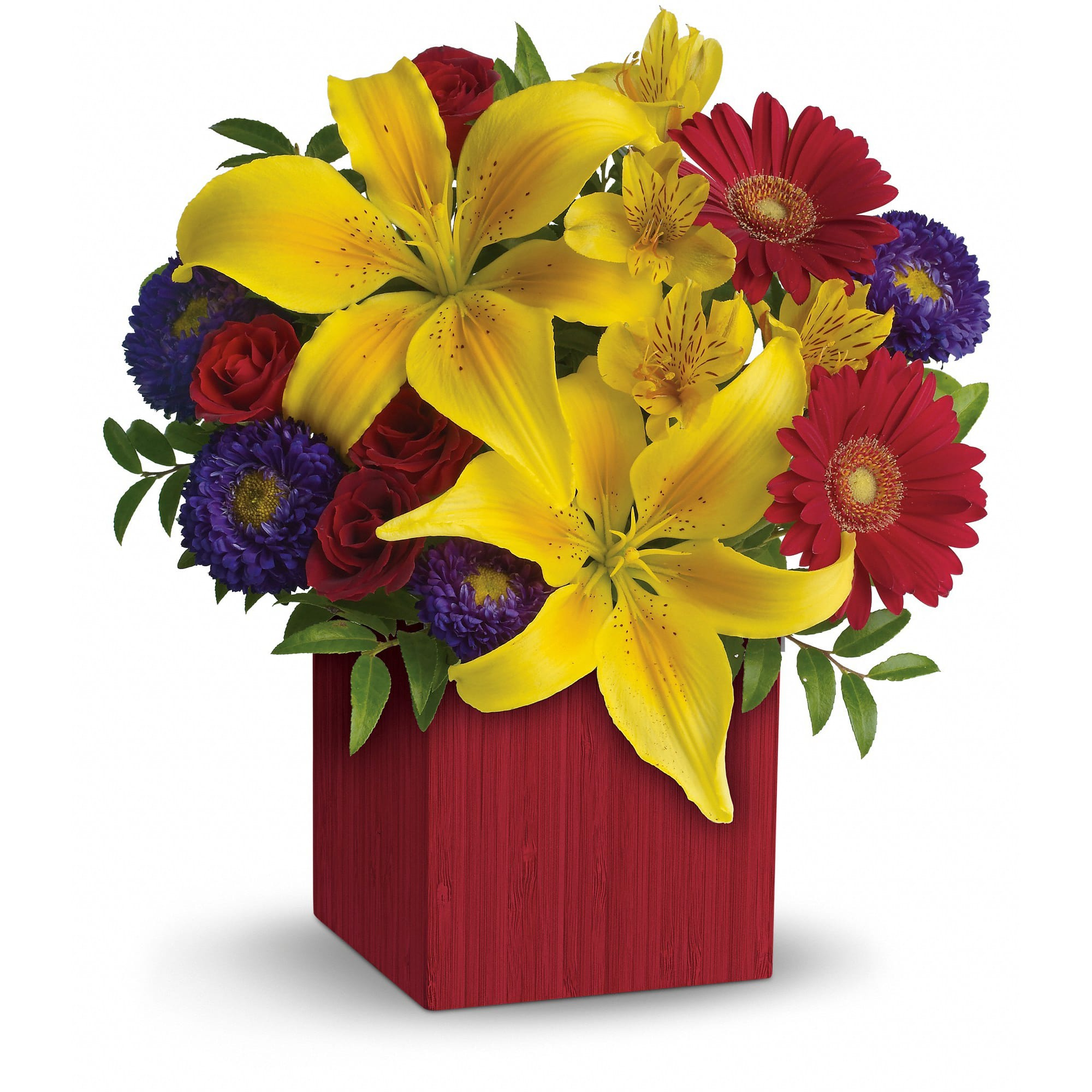 Teleflora's Summer Brights - Talk about a bright idea! An all-occasion favorite,