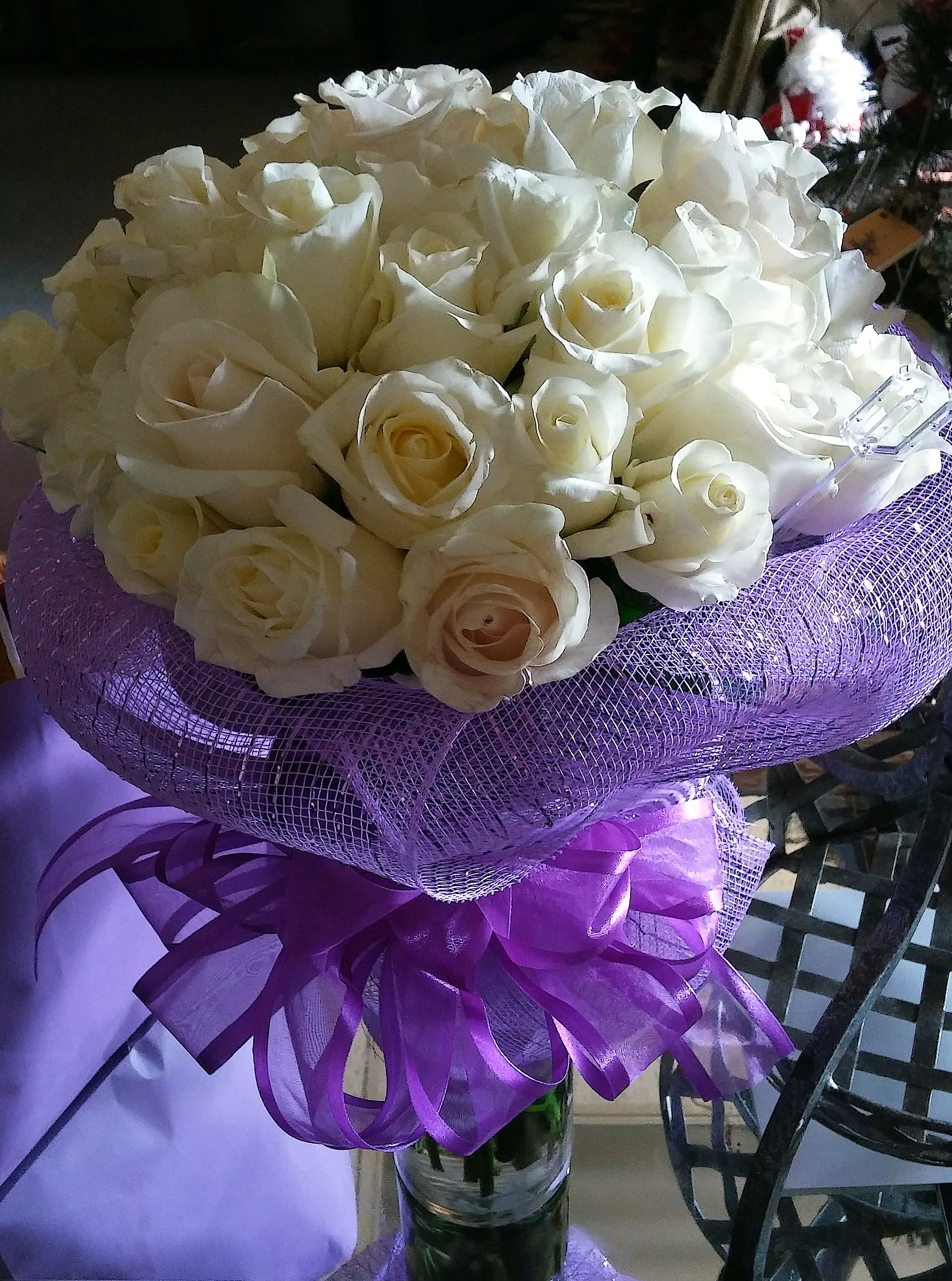 Pure White Roses Mo101 In Dallas Tx My Obsession Floral
