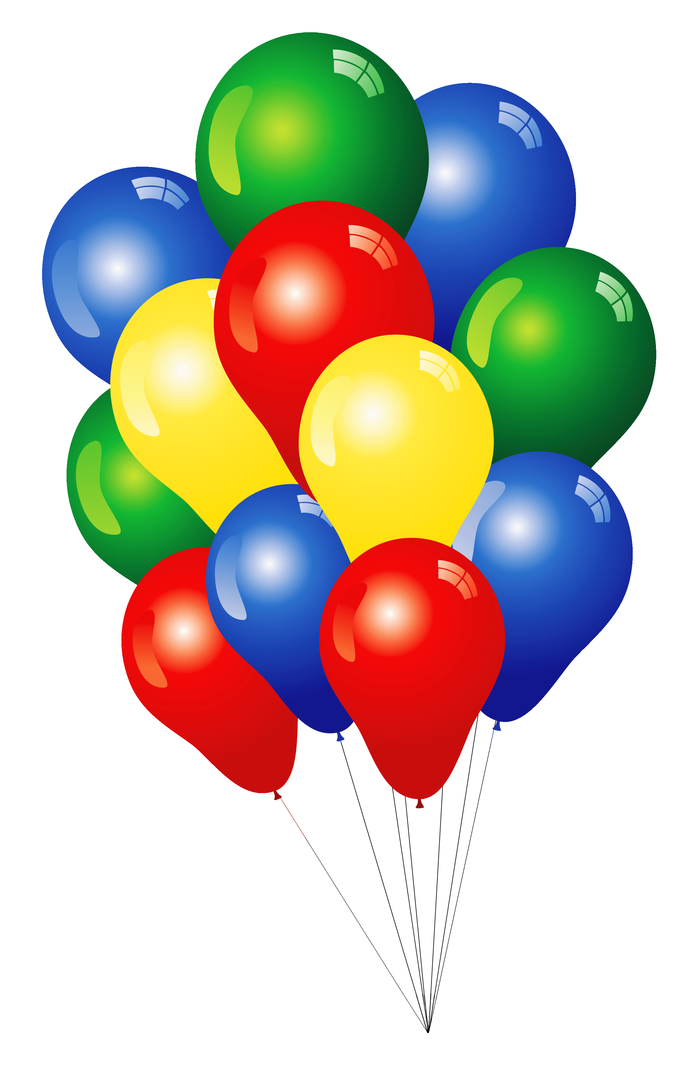 20 multi colored balloons in denver co sophisticated blooms