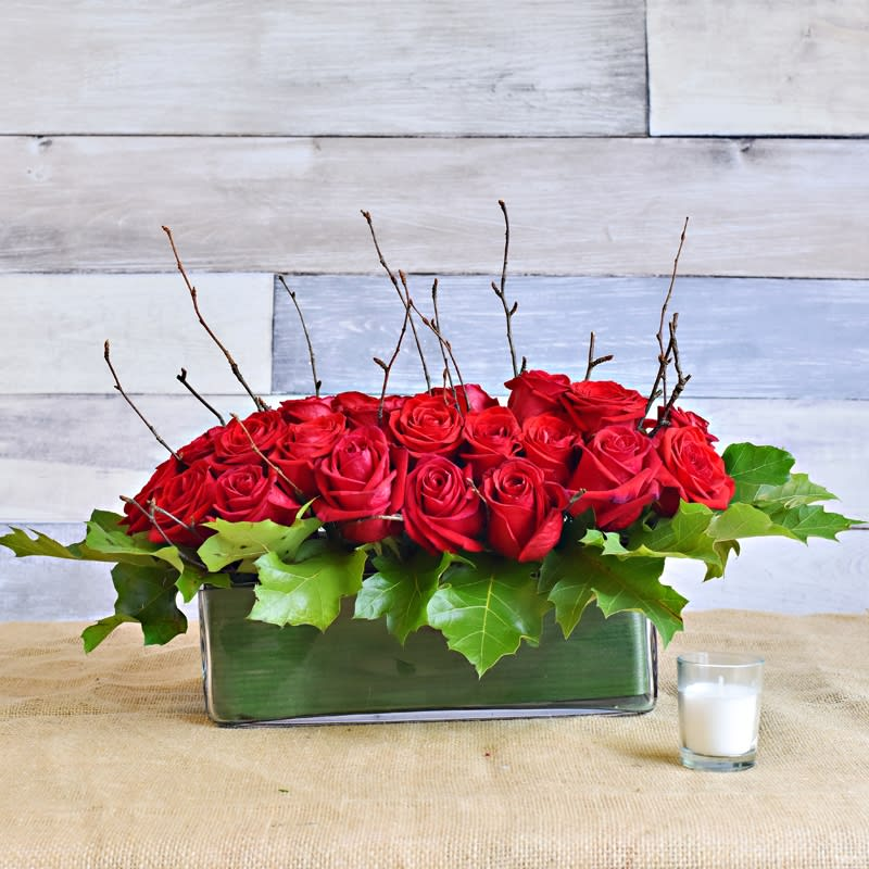 Lovely Roses By Methuen Flowers