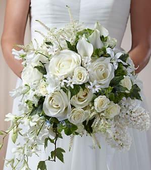 Cherish Bridal Bouquet In New Orleans La Mona S Accents