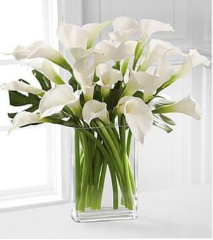 Simplicity Luxury Calla Lily Bouquet In Atlanta Ga Atlanta Flower