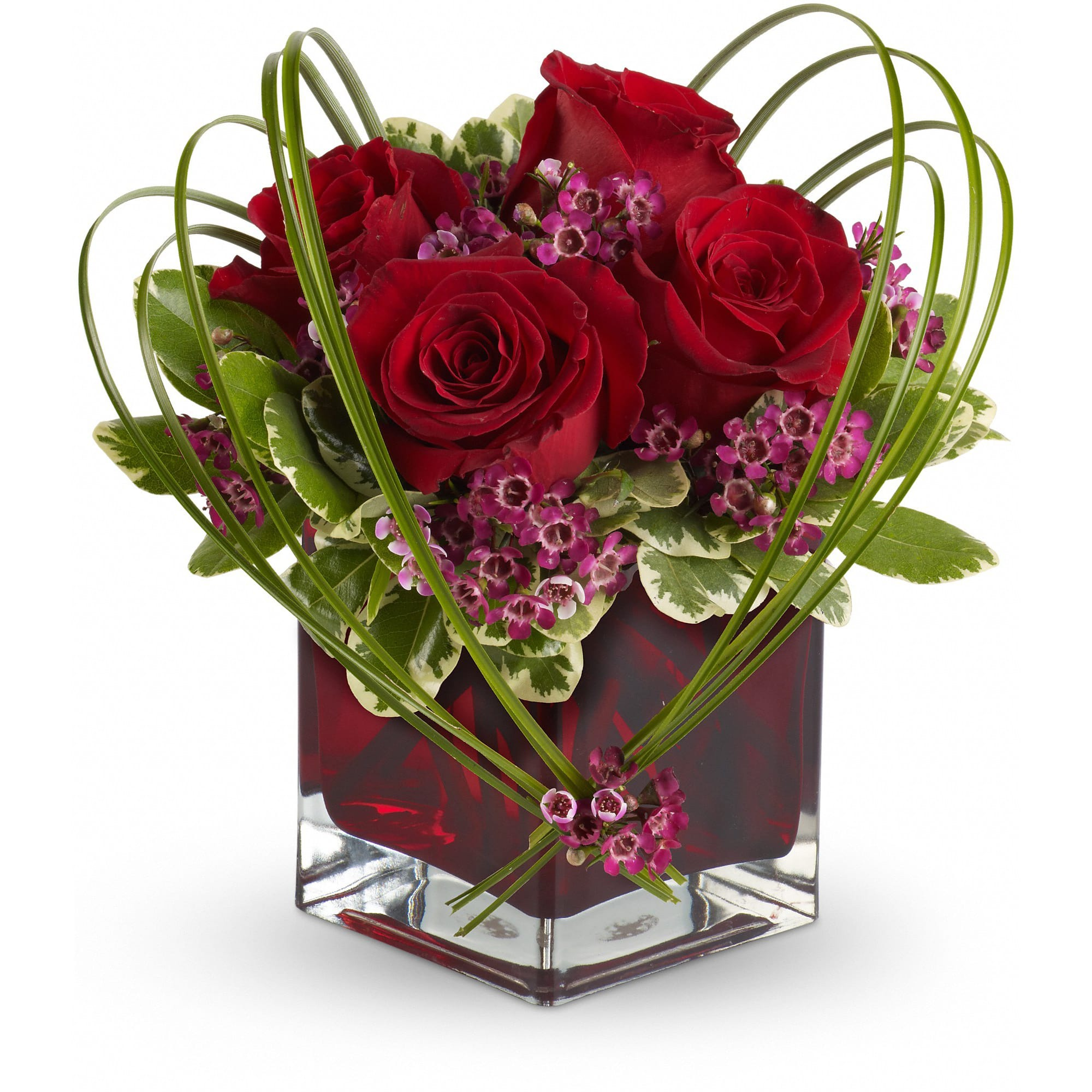 Telefloras Sweet Thoughts Bouquet With Red Roses In Frederick Md