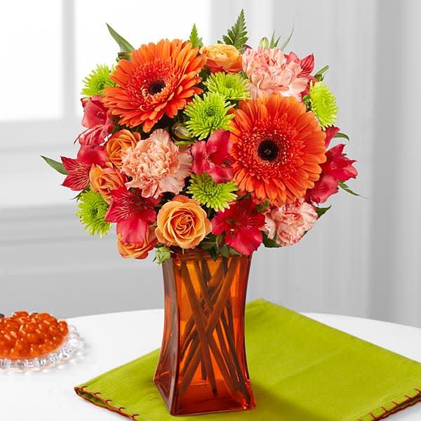 The FTD Orange Escape Bouquet