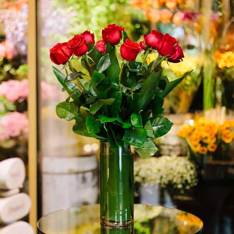 Red Roses In New York Ny Stevens Gabes House Of Flowers