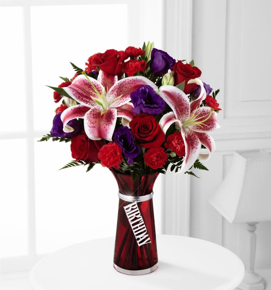 The FTDR Birthday WishesTM Bouquet