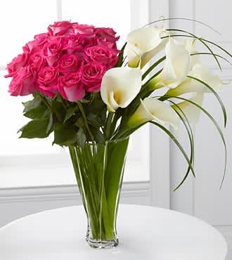 Irresistible Luxury Rose Calla Lily Bouquet In Playa Del Rey Ca
