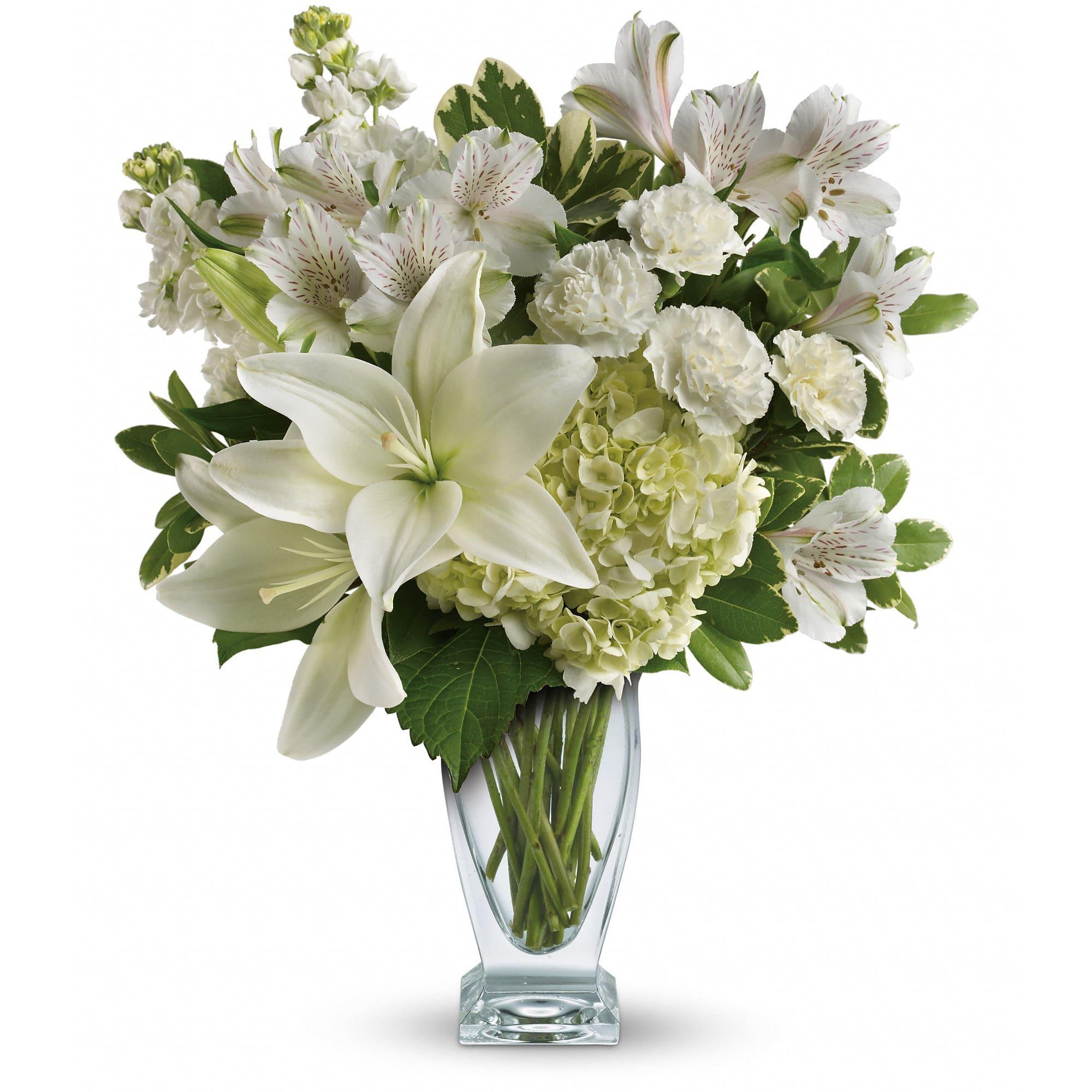 Teleflora's Purest Love Bouquet TEV 30-2A