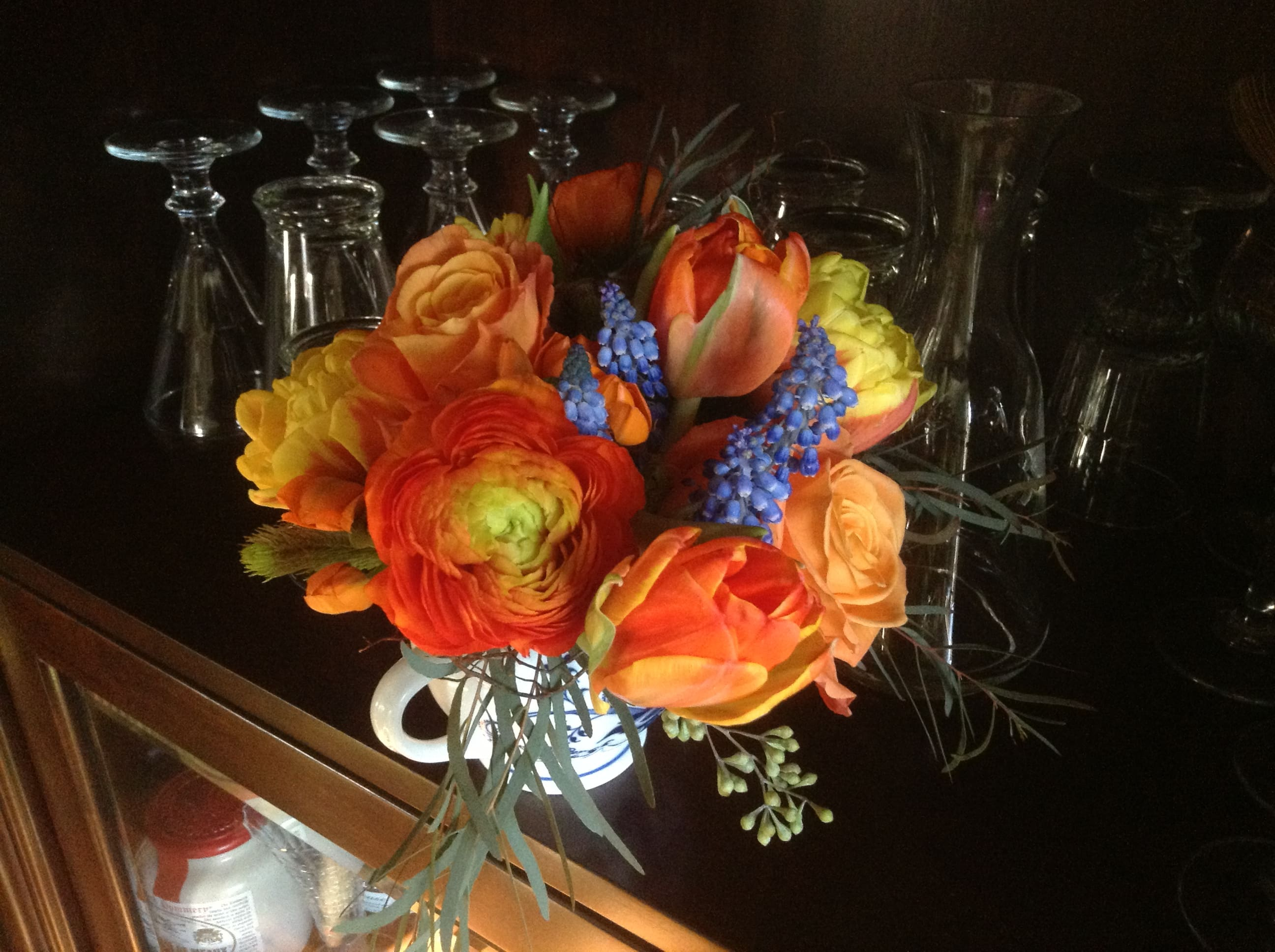 Orange is the new blue in Fort Mitchell, KY | Art Floral