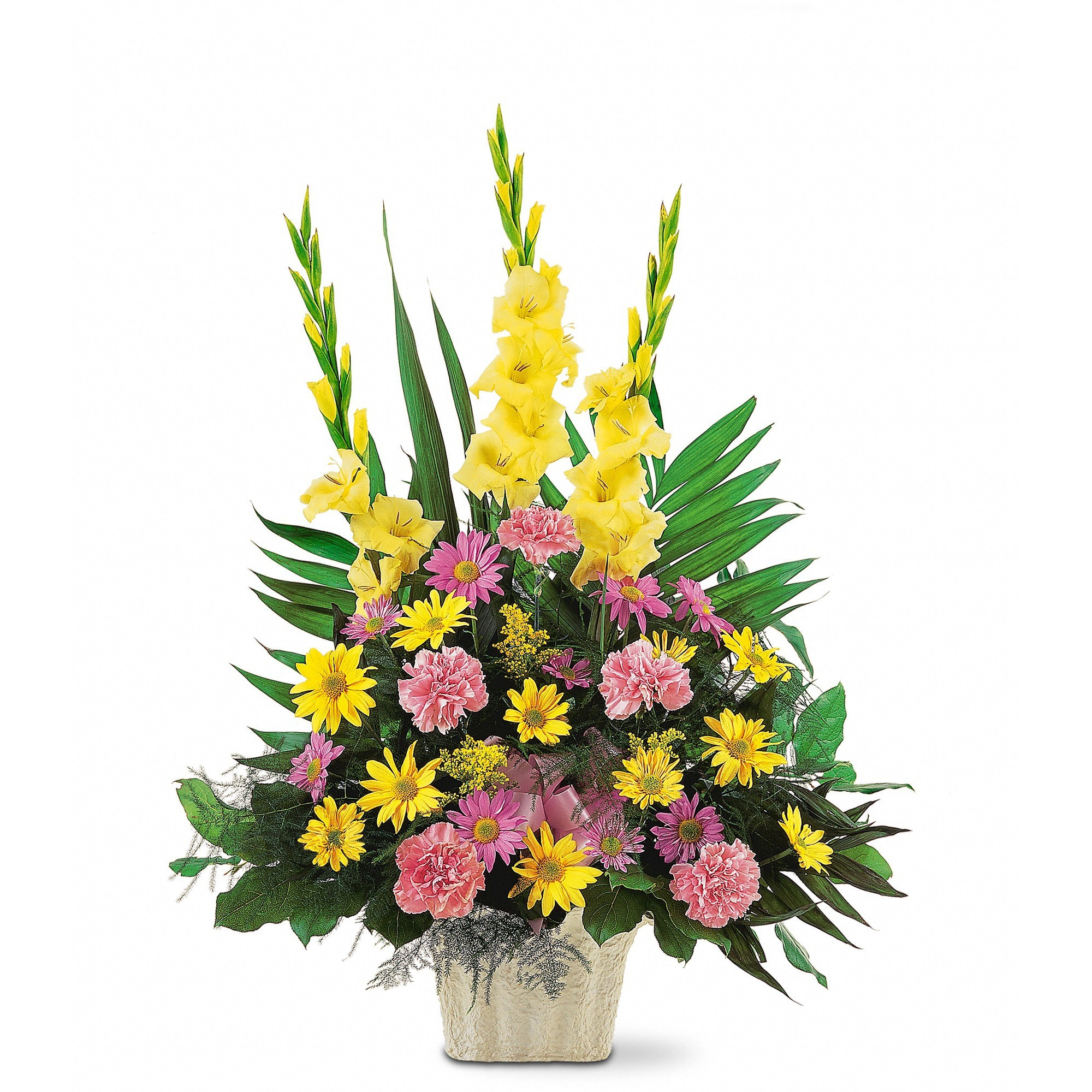 Warm Thoughts Arrangement by Teleflora in Winston Salem, NC | Florista By  Adolfos Creation Inc
