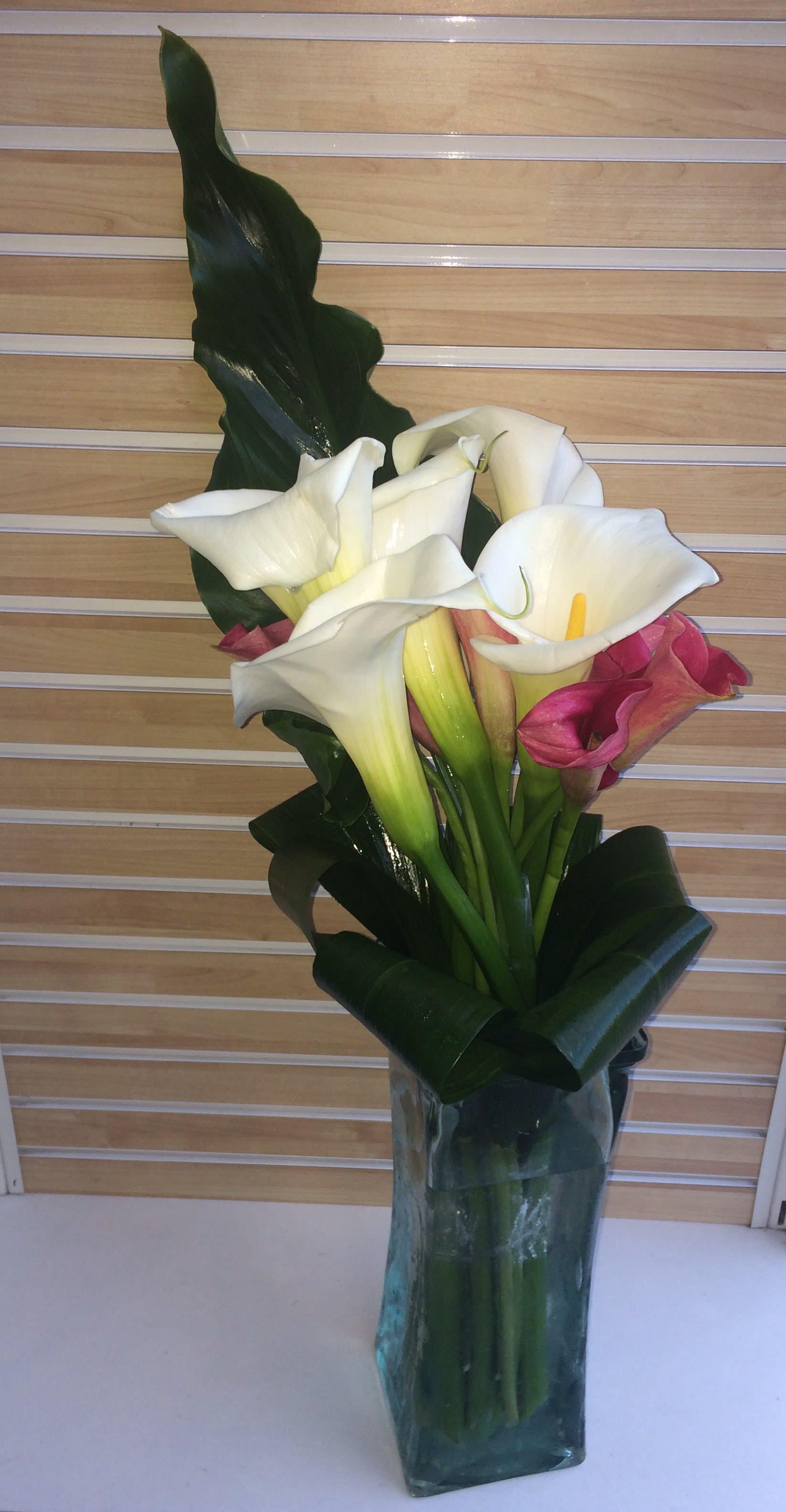 Memorable Calla Lily Bouquet In Placentia Ca Orchids Little