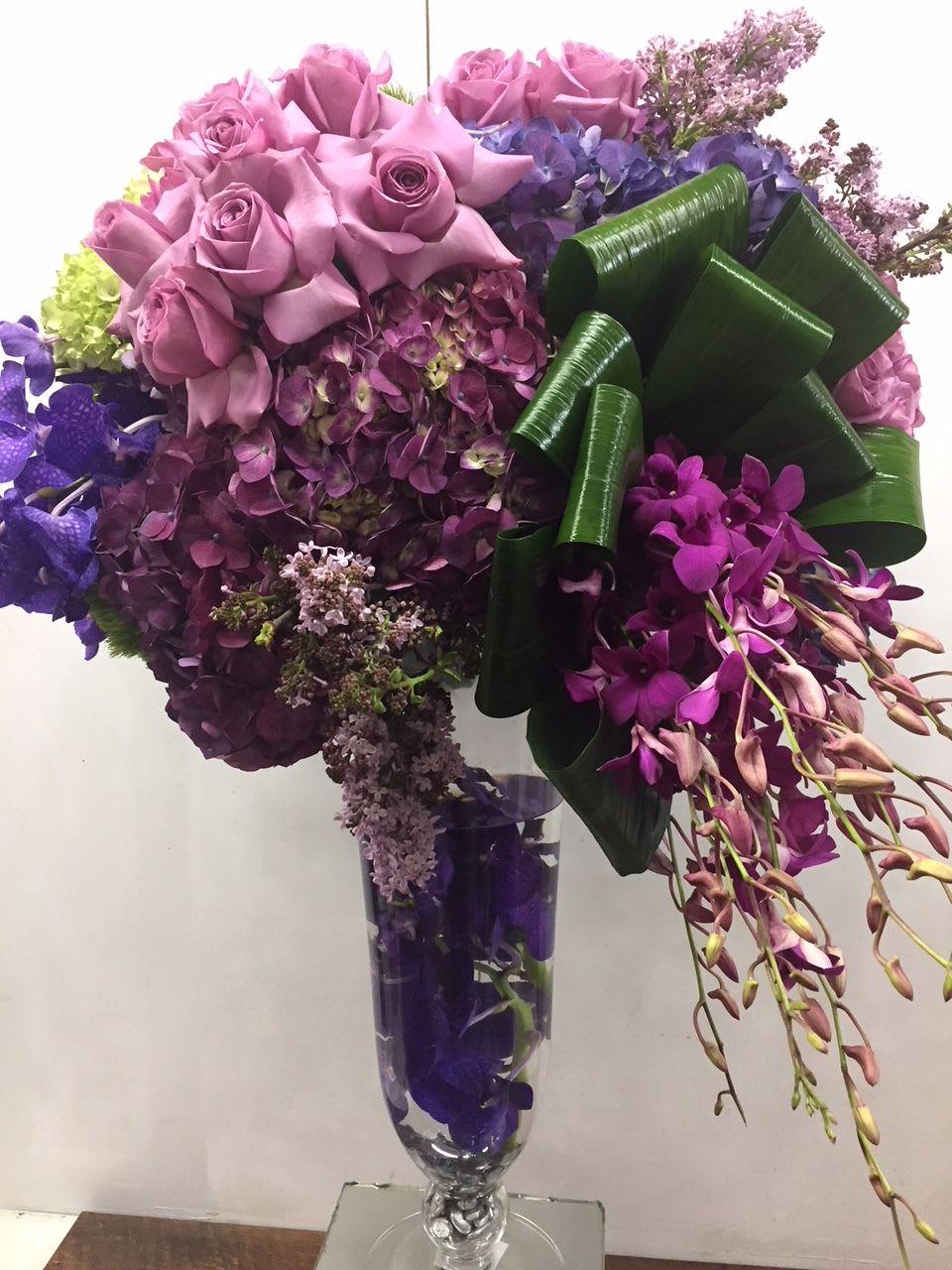 Purple Rain in Los Angeles, CA | Beverly Blossoms
