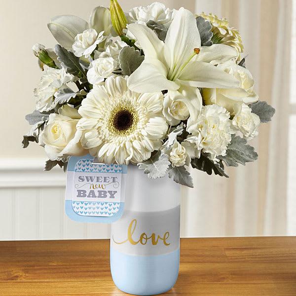 The Ftd Sweet Baby Boy Bouquet By Hallmark In Beachwood Oh