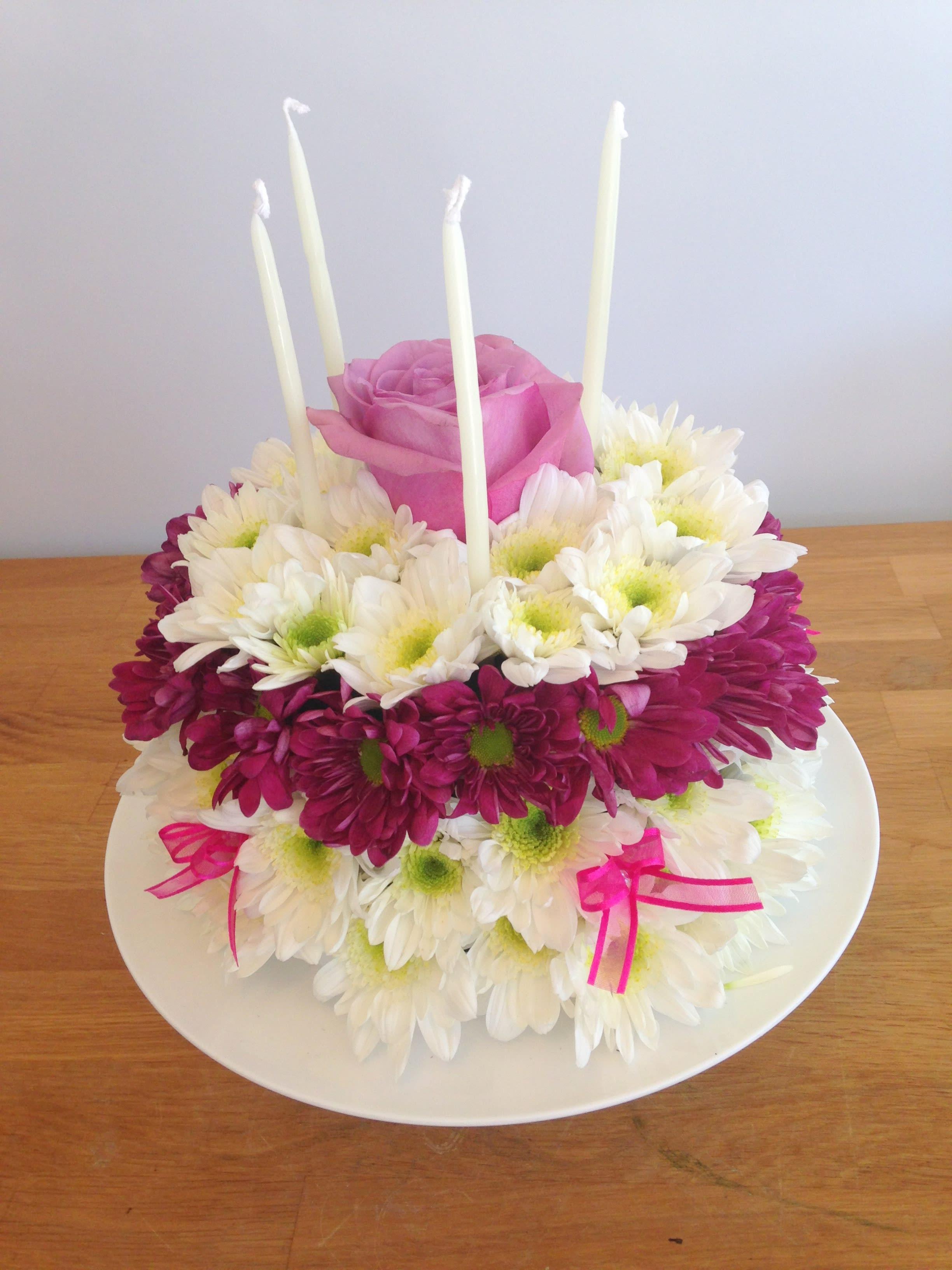Flower Cake In Irvine Ca Flower Synergy