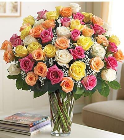 Ultimate Elegance Assorted Roses In Elk Grove Ca Laguna Flowers