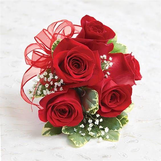 Red Roses Corsage In Los Angeles Ca Brenda S Flowers
