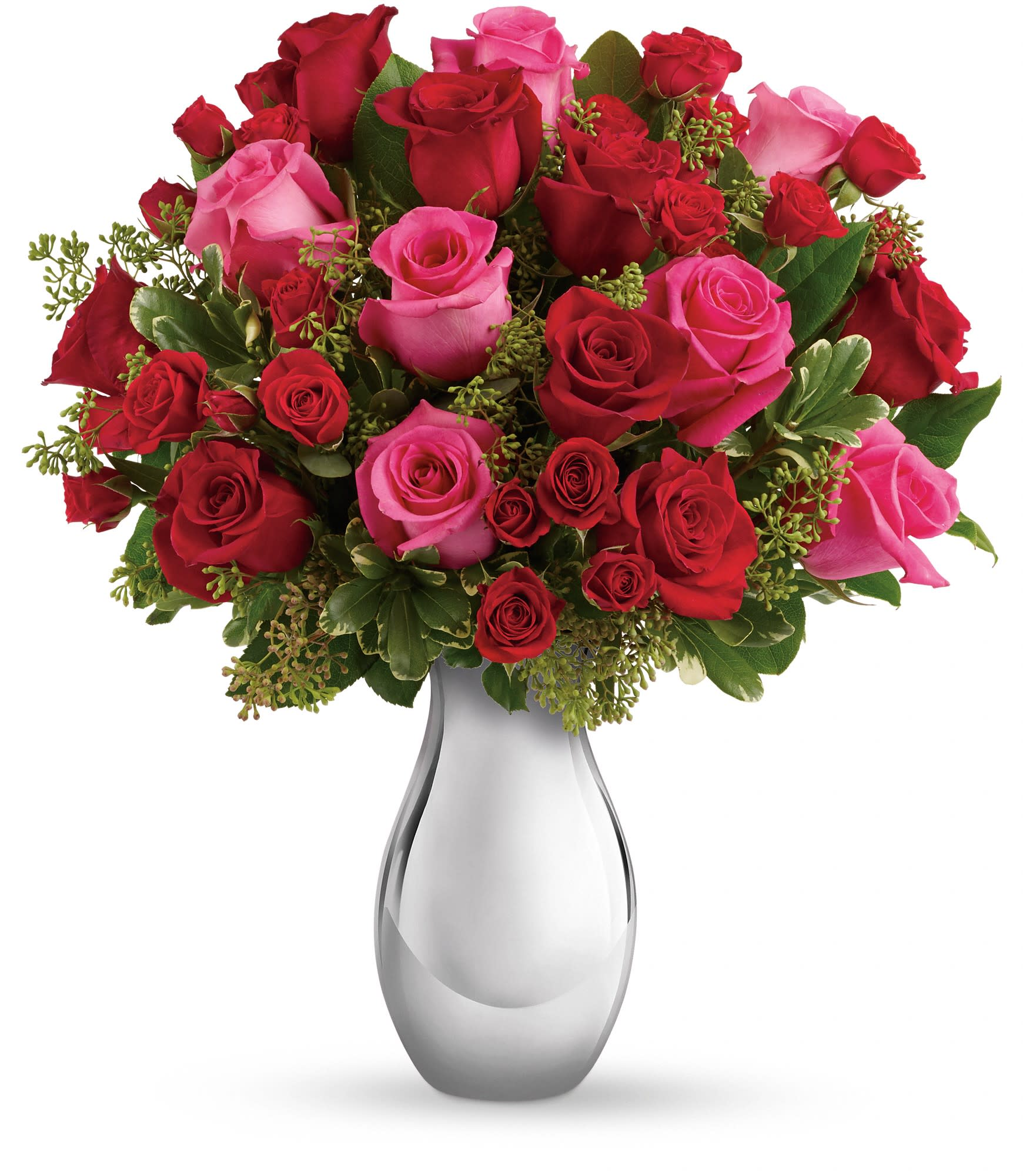 Telefloras True Romance Bouquet With Red Roses In Mountain View