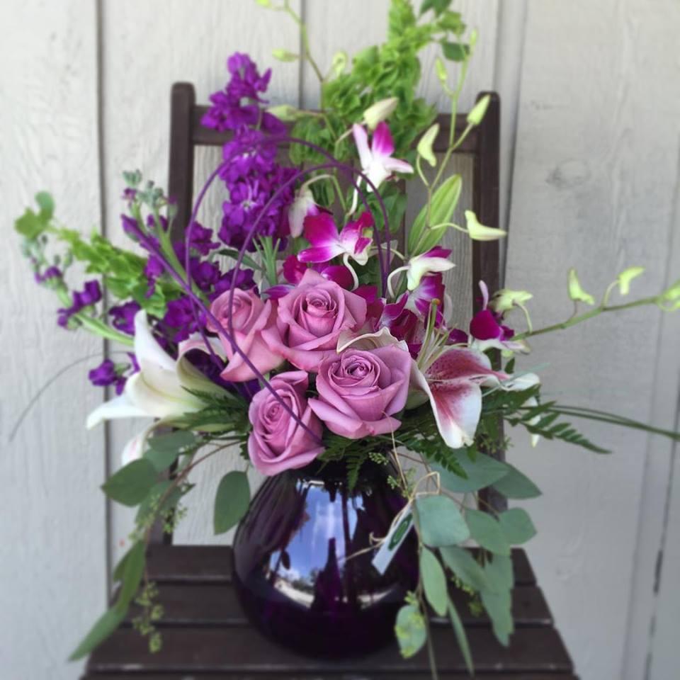 Purple Rain in Altamonte Springs, FL | The Flower Studio