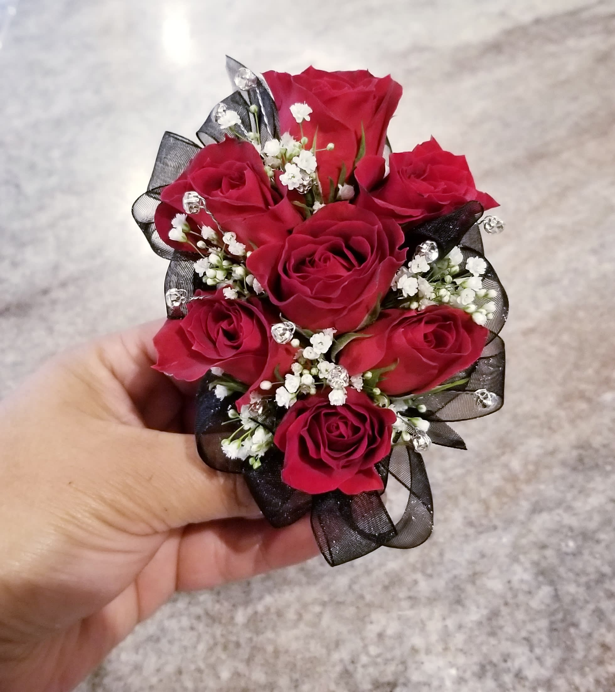 Red Rose Corsage 001 In Beverly Hills Ca Apropos Floral Event