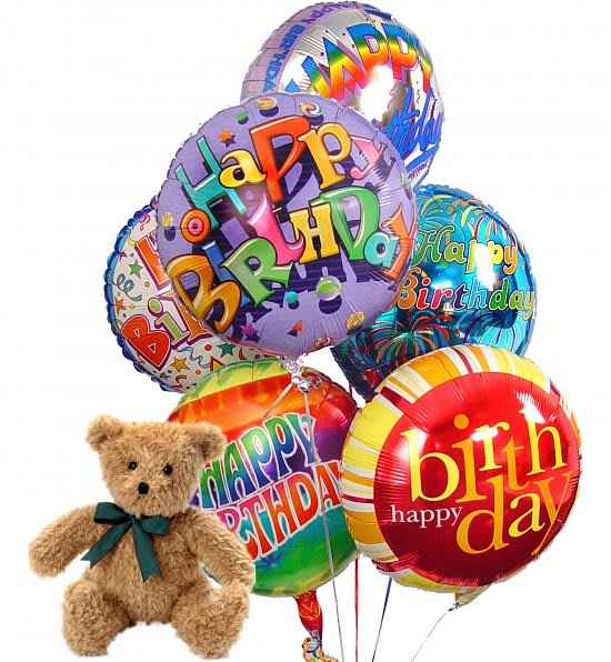 Childs Happy Birthday Balloon Package
