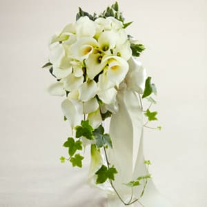 White Calla Lily Bouquet In Fort Myers Fl Ruth Messmer Florist