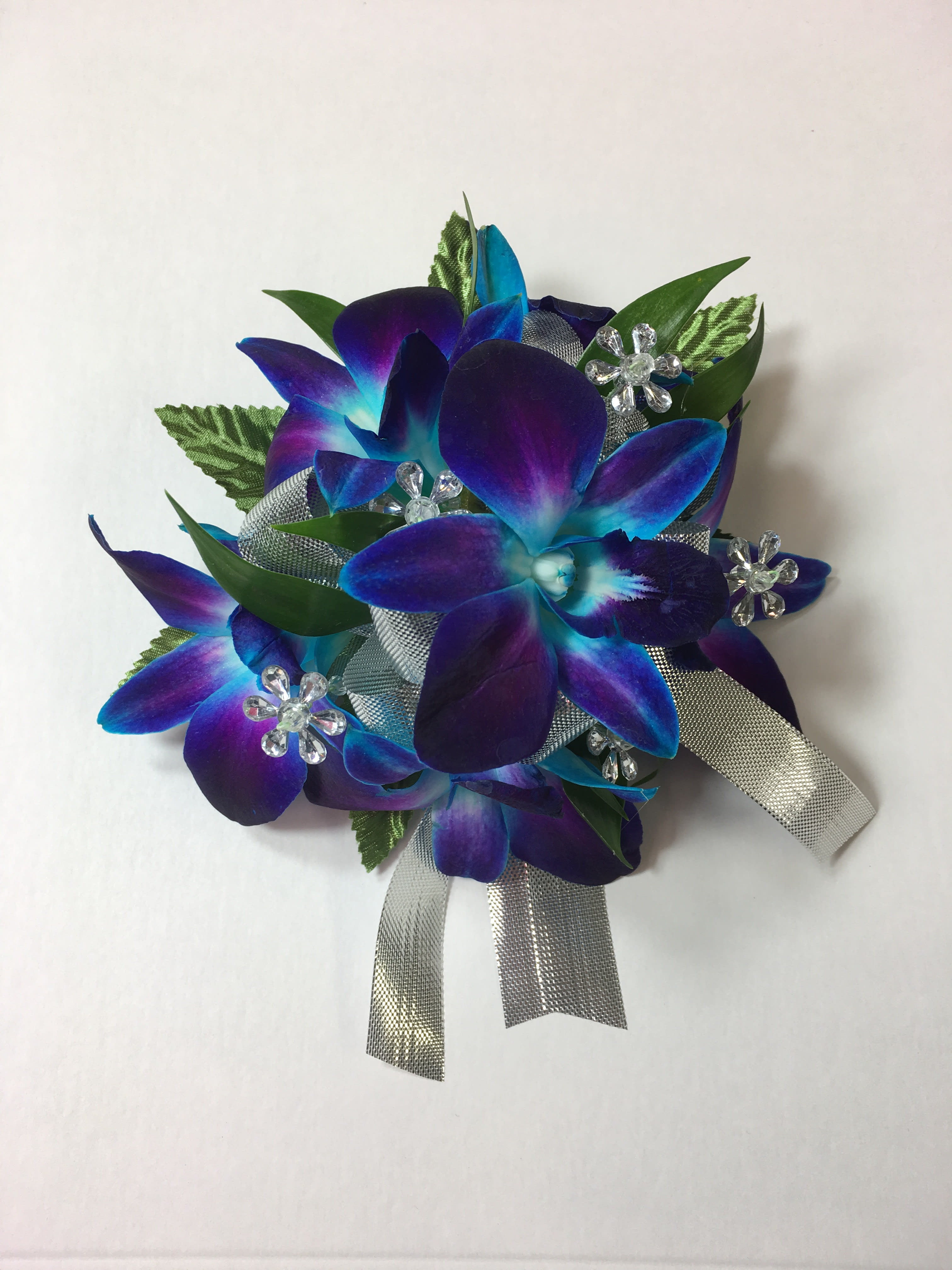 W5 Amy Blue Orchid Wristlet Fg358b In Bensalem Pa Flower Girl