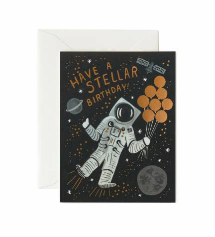 Space Birthday Card In Provo UT