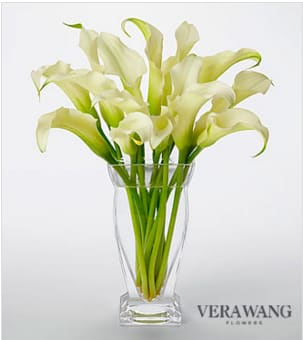 Vera Wang White Calla Lily Bouquet In Riverside Ca The Flower Shop