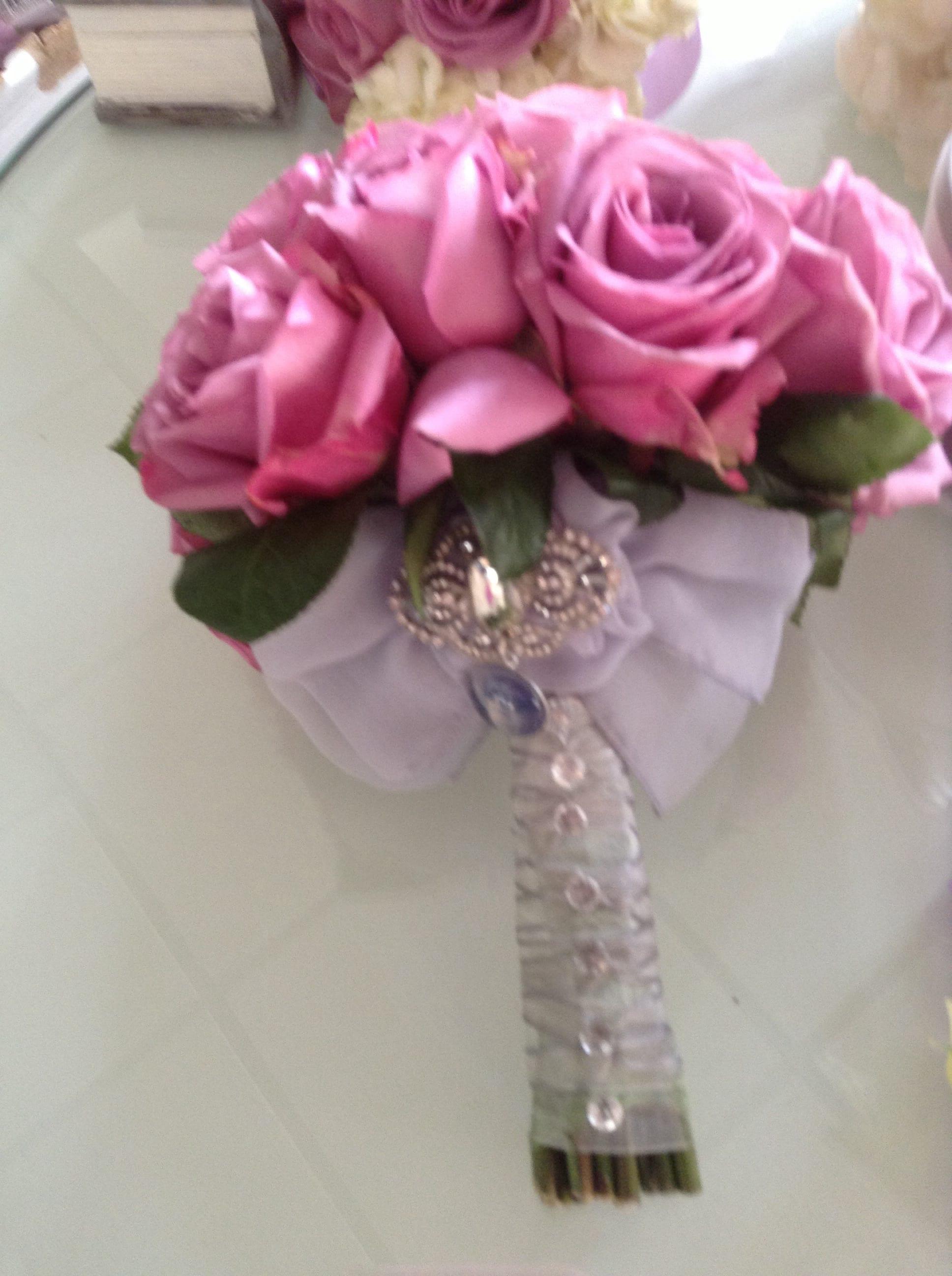 ac12ba374 Rose clutch bouquet in Redondo Beach, CA   Brooke's Flowers