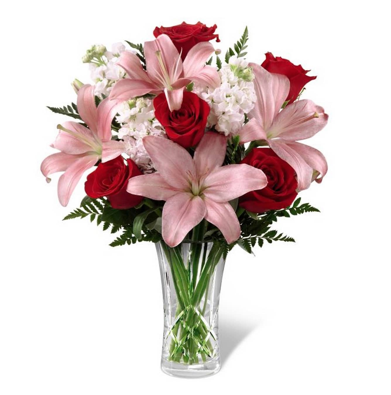 The Ftd Lily Anniversary Bouquet A Flower Junction