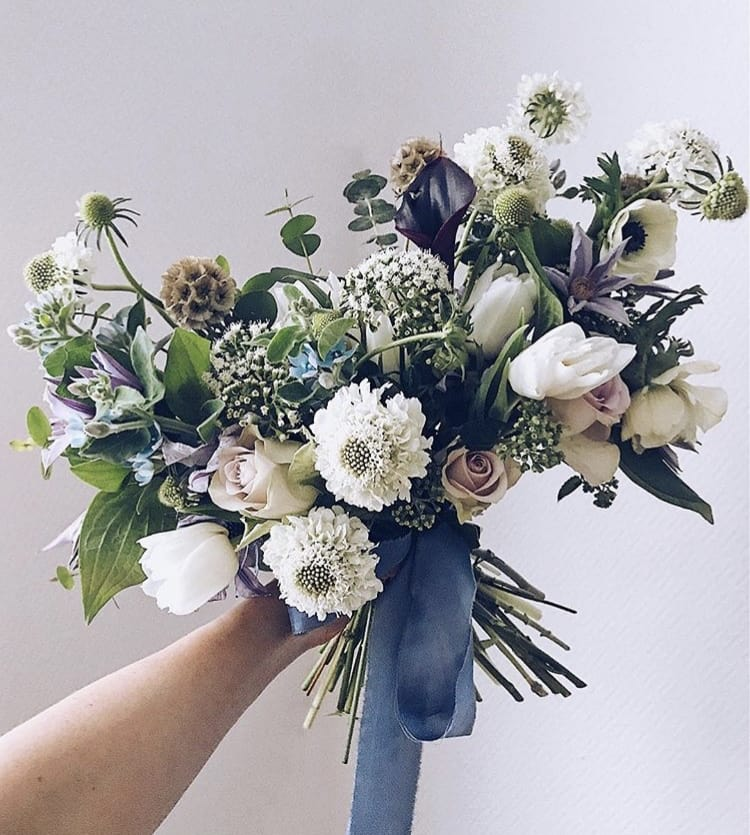Wild Flowers For Wedding: All Wild Bouquet In Los Angeles, CA