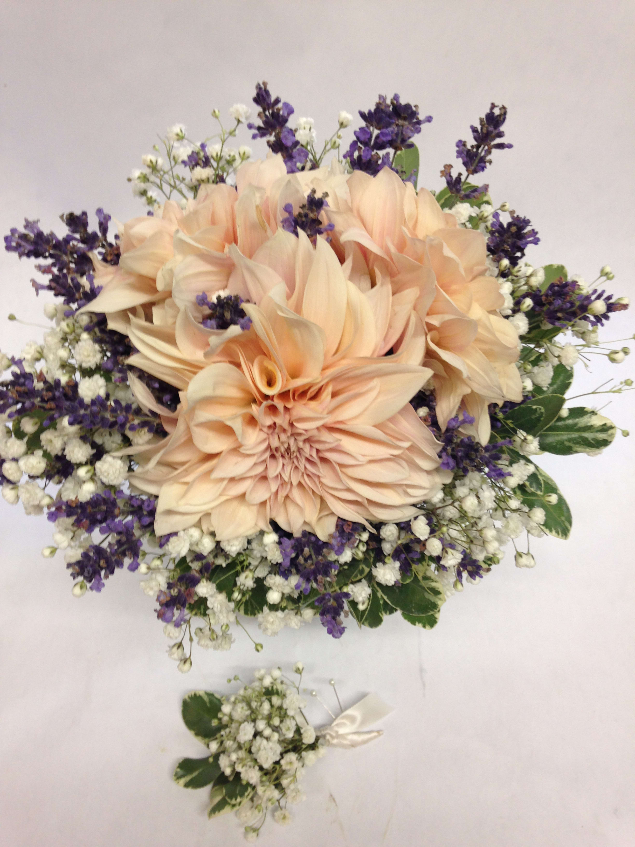 precious day wedding bouquet and boutonniere in san francisco, ca | flowers  of the valley