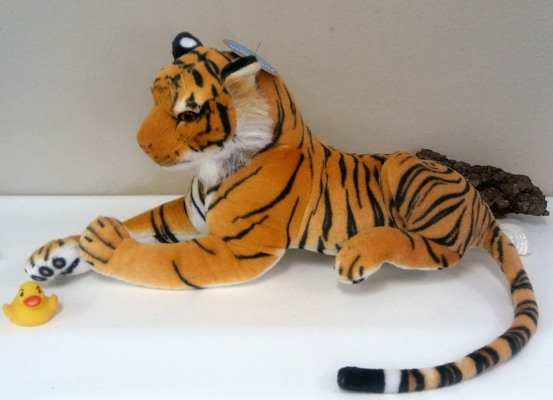 Large Lsu Bengal Tiger 24 Body Including Tail 36 In Slidell La
