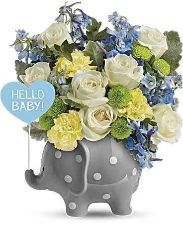 Hello Sweet Baby Boy In Burtonsville Md Amandas Arrangements