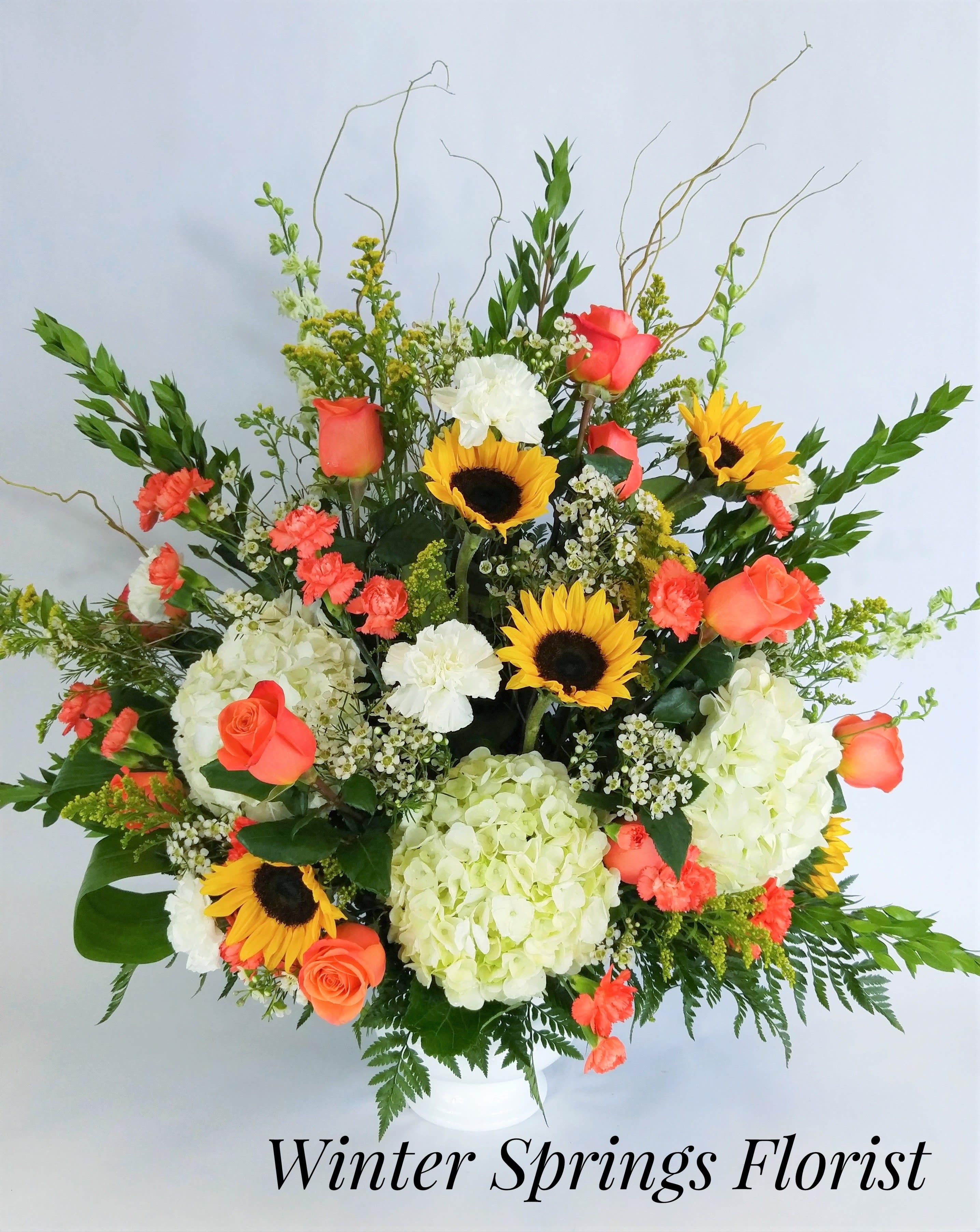 Loving Thoughts Tribute In Winter Springs Fl Winter Springs Florist