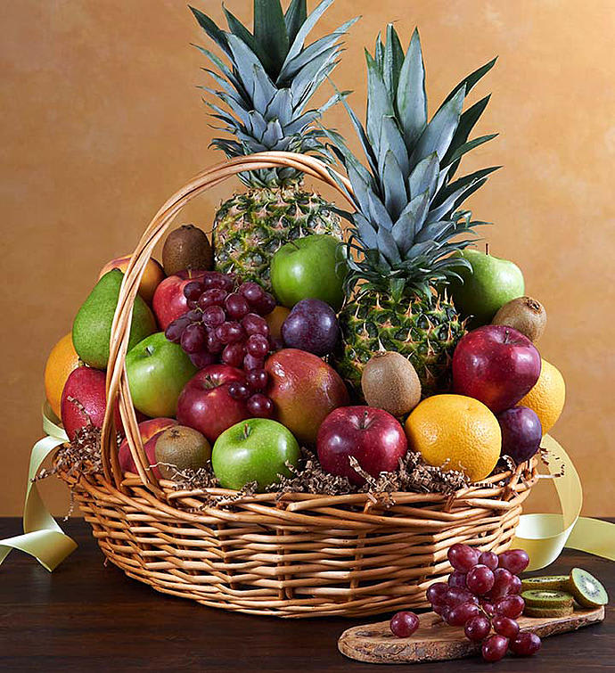 Pictures Of Fresh Fruit Baskets
