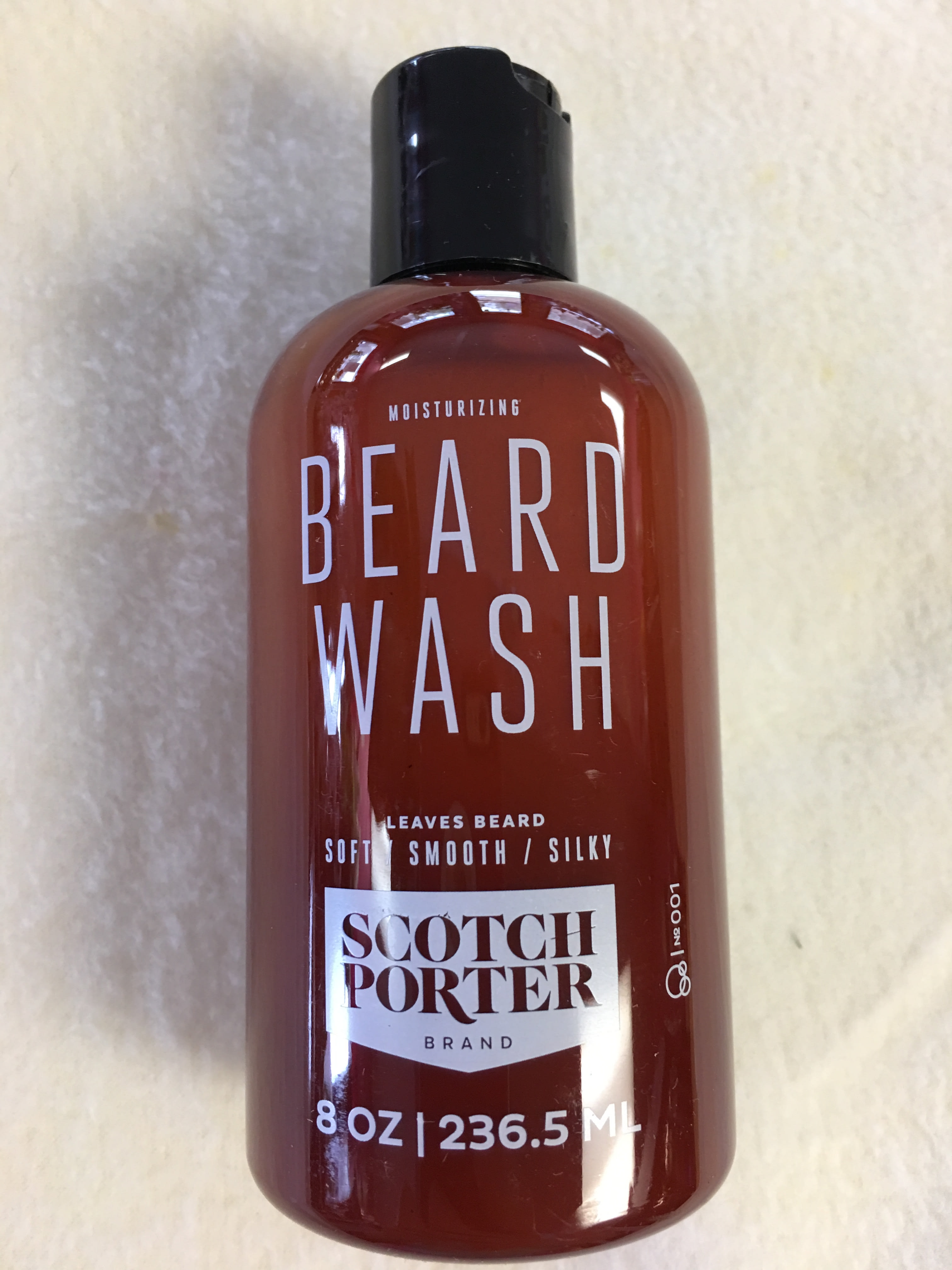 8oz Bottle Beard Wash in Niantic, CT | L & J Blooms LLC